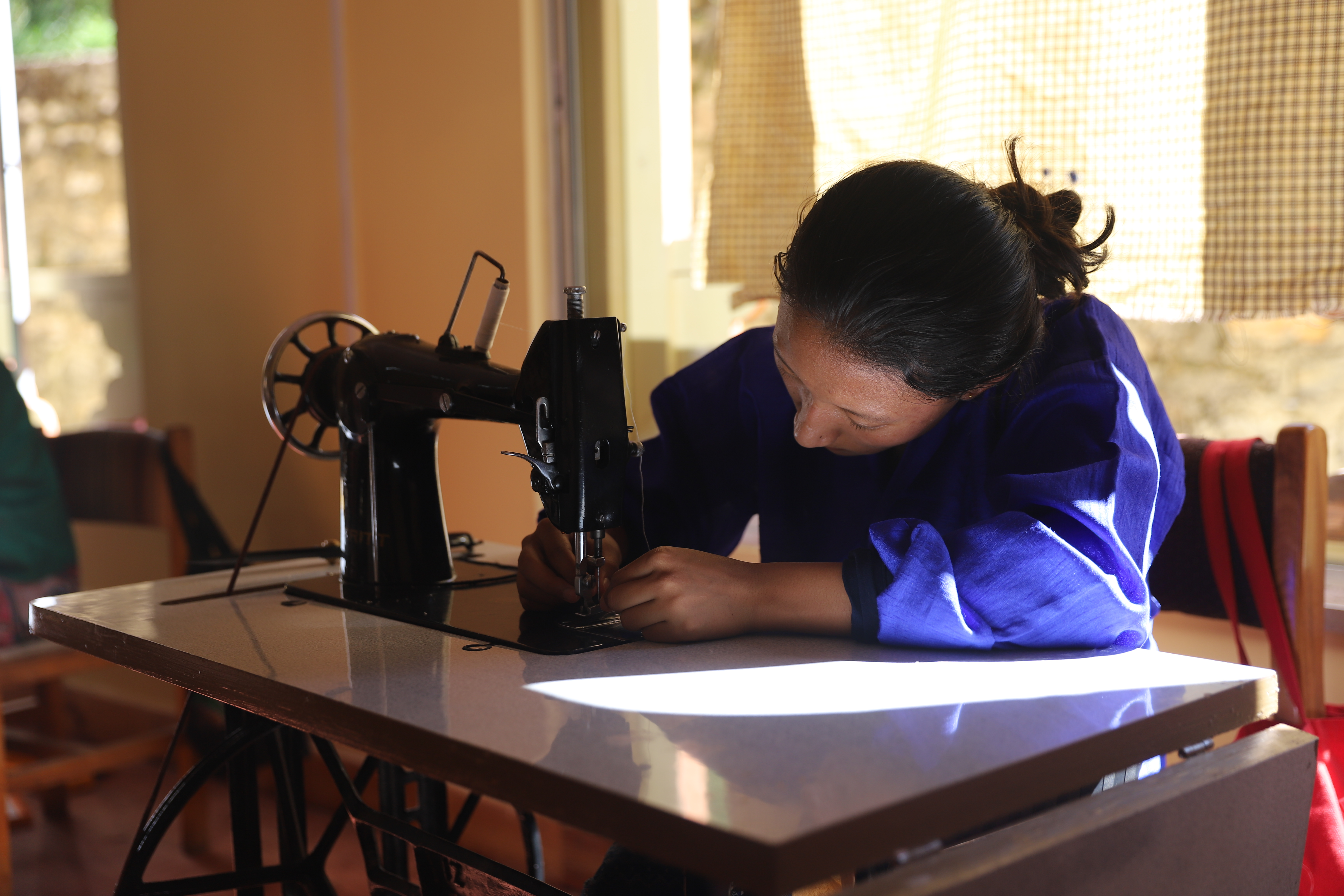 Participant in the tailoring class