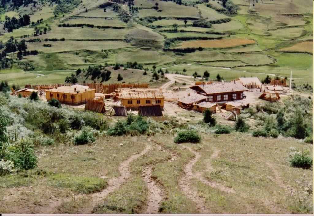 Ura, das Center vor Fertigstellung