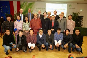 BOKU, Dec. 2014, 25th anniversary, scientific cooperation Bhutan - Austria